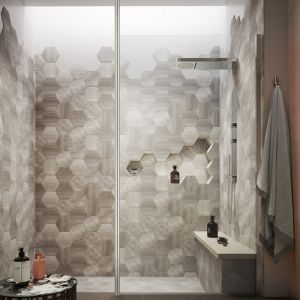 Hudson Reed 3000mm Wetroom Screen Ceiling Post