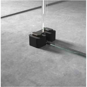 Hudson Reed Wetroom Screen Retainer Support Foot - Black
