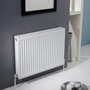 Kartell Kompact 600mm High x 400mm Wide Double Panel Radiator