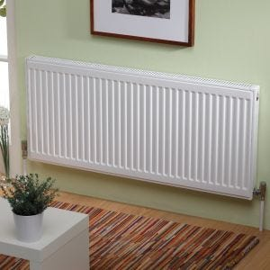 Kartell Kompact 600mm High x 500mm Wide Single Panel Radiator