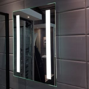 KALA 500mm x 700mm LED Mirror with Shaver Socket & Touch Switch