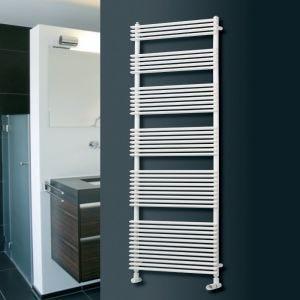 Eucotherm White Kalida Towel Radiator 1160mm x 600mm
