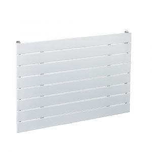Biasi Lorenza Single Designer Horizontal Radiator White W600mm H595mm