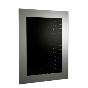 Hudson Reed Lucio Infinity Mirror LED with Motion Sensor 800mm x 600mm
