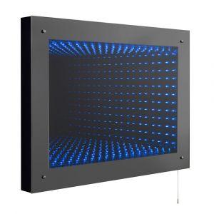 Hudson Reed Lucio Infinity Mirror LED 600mm x 800mm