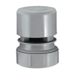 McAlpine VP2 Grey Air Admittance Valve 40mm