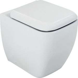 RAK Metropolitan Back to Wall Pan with Soft Close Seat