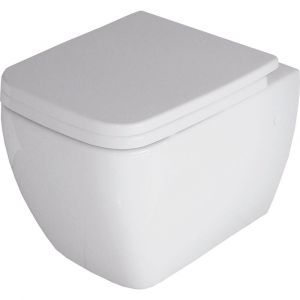 RAK Metropolitan Wall Hung Pan with Soft Close Seat