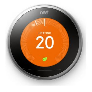 Nest T3010GB Stainless 3rd Generation Learning Thermostat