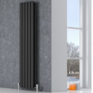 Reina Neva Double 1500mm High x 236mm Wide Radiator - Anthracite