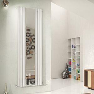Eucotherm White Nova Mirror Single Radiator 1800mm x 584mm
