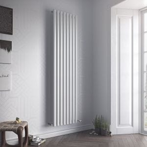 Eucotherm White Nova Single Vertical Radiator Radiator 1500mm x 294mm