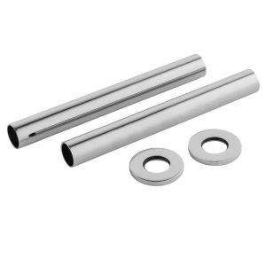 Nuie Decorative Chrome Pipes