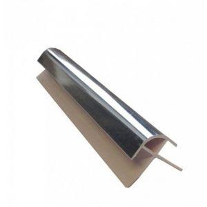 Silver 2400mm  PVC  External Corner