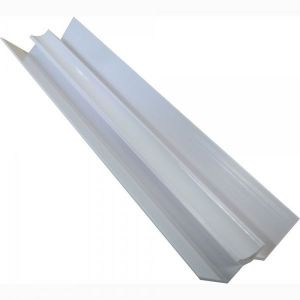 White 2400mm  PVC  Internal Corner