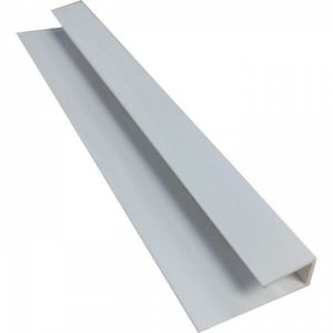 White 2400mm  PVC  Starter / End Trim