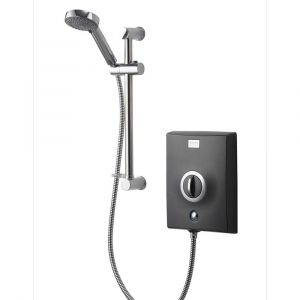 Aqualisa Quartz Electric Shower 9.5kw Graphite And Chrome
