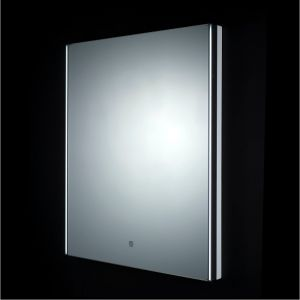 RAK Resort LED Mirror with Demister Pad & Shaver Socket 450mm x 600mm