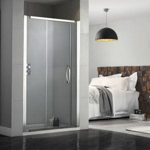Aquadart Inline Recessed Sliding Shower Doors 1200mm
