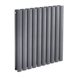 Biasi Sofia Anthracite Double Designer Radiator W584mm H600mm