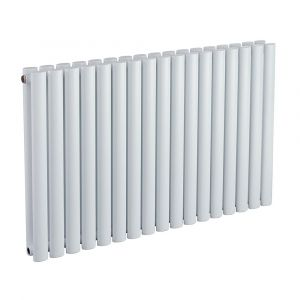 Biasi Sofia White Double Designer Radiator W584mm H600mm