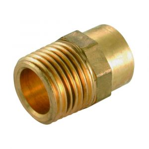 Solder Ring Male Iron Coupler 22mm x 3/4