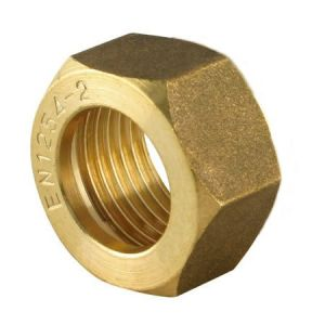 Brass Compression Spare Nut 8mm