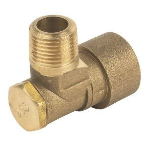 Standard Bayonet Cooker Hose Elbow Fitting