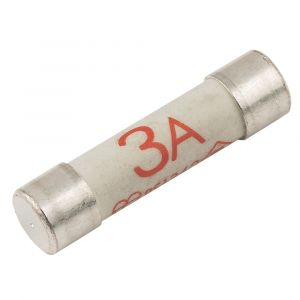 Pack of 4 Standard Electrical Fuses 3 Amp