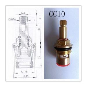 Pair of Quarter Turn Ceramic Disc Tap Cartridges CC10