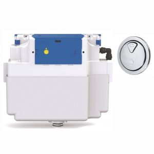 Vantage Dual Flush Concealed Cistern - 73.5mm Button