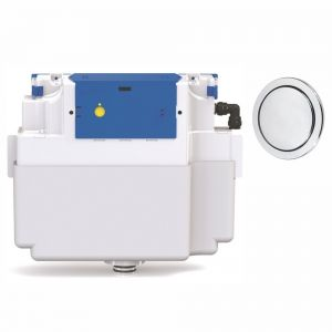Vantage Single Flush Concealed Cistern - 73.5mm Button