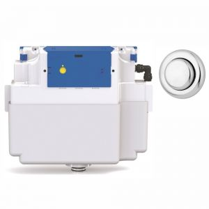 Vantage Single Flush Concealed Cistern - 51mm Royal Button