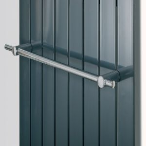 Eucotherm Chrome Mars Towel Rail 595mm