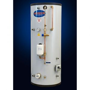 Advance Appliances 140L Vented Single Coil & Internal Feed and Expansion Tank