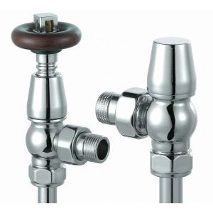 Vogue Excelsior 15mm Thermostatic Angled Valve