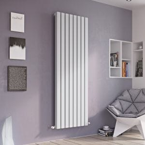 Eucotherm Anthracite Vulkan Square Radiator 1800mm x 285mm