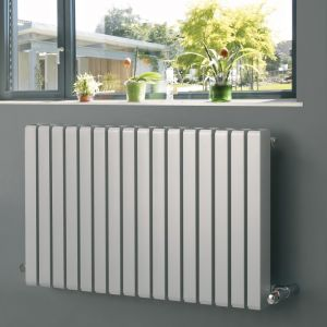Eucotherm Anthracite Vulkan Square Radiator 600mm x 885mm