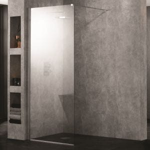 Aquadart Walk-In Wetroom 10 Shower Panel 600mm