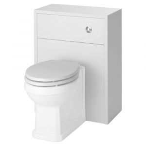 Kartell Astley White Ash Soft Close WC Seat