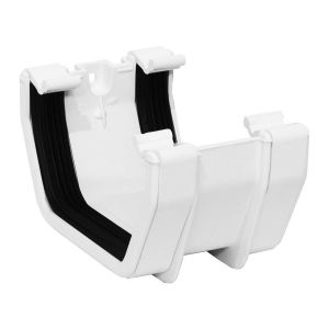 White 112mm Square Union Bracket