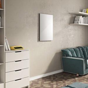 Eucotherm White Glass Panel Infrared Heater 600W