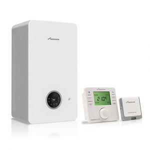 Worcester Greenstar 2000 25kW Combi Boiler with RF Thermostat - Natural Gas