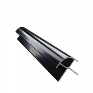 Proplas Black PVC External Corner H2800mm D8mm
