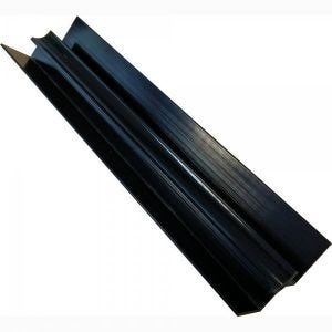 Proplas Black PVC Internal Corner H2800mm D8mm