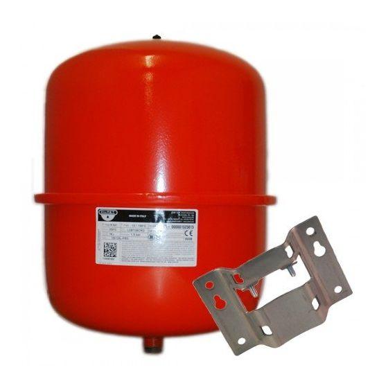 24 Litre Central Heating Expansion Vessel and Bracket