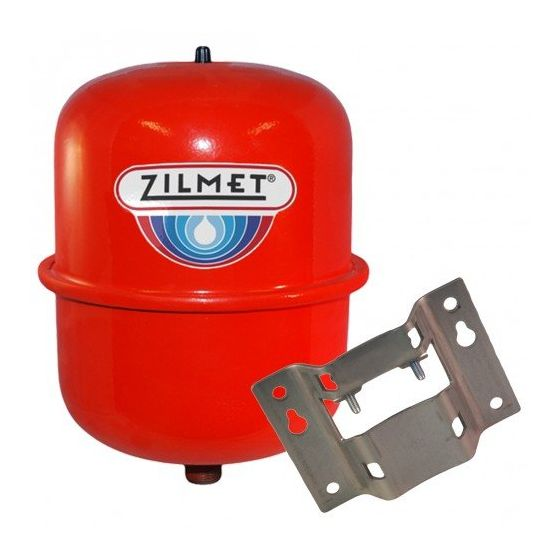 8 Litre Central Heating Expansion Vessel and Bracket