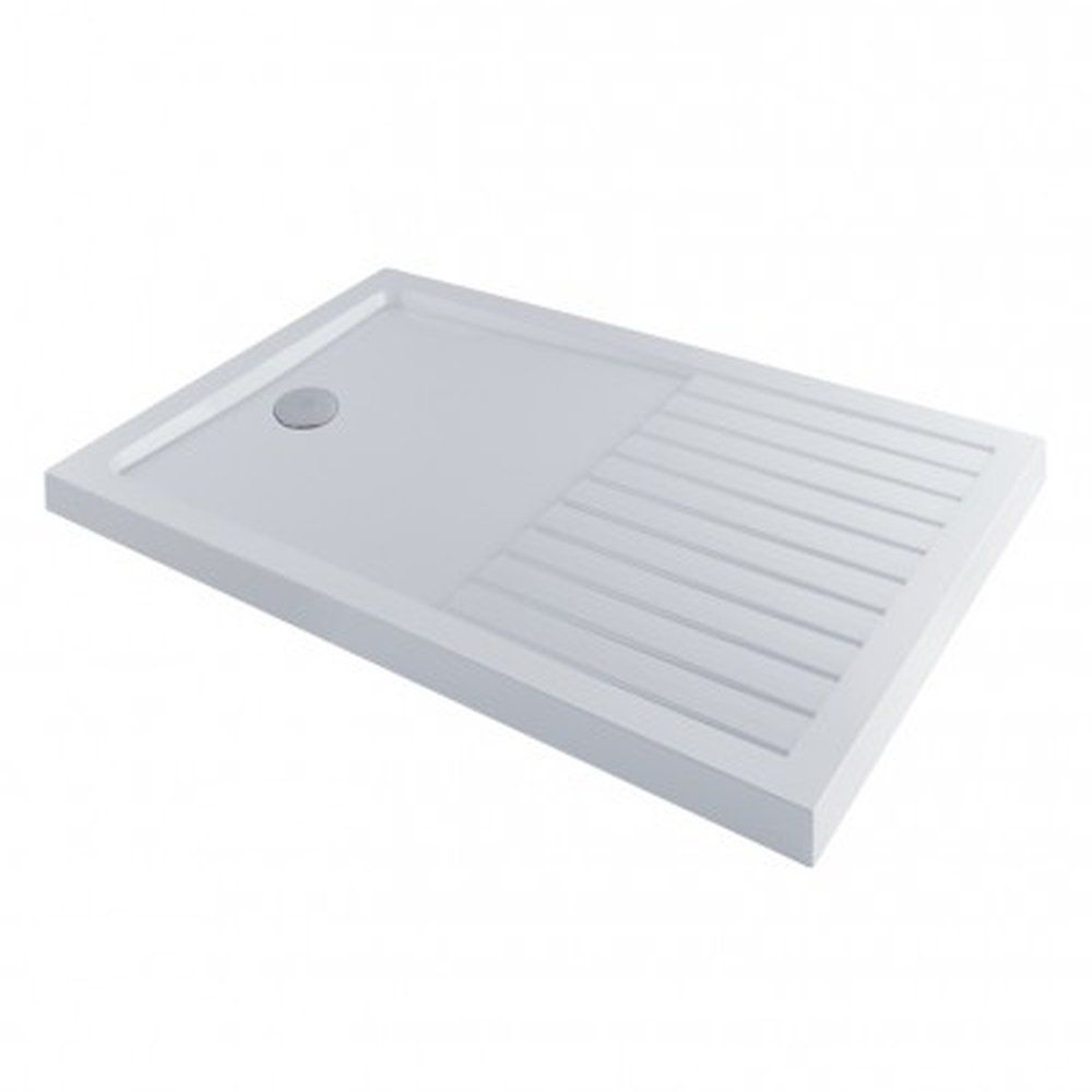 Aqua-I Walk-In Low Profile Stone Resin Shower Tray 1400mm x 900mm