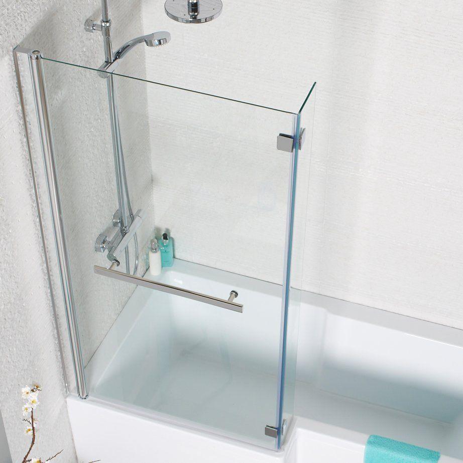 Kartell Tetris L Shaped Shower Bath Screen