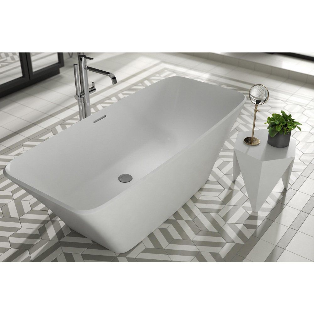 Ramsden & Mosley Anglesey 1700mm x 750mm Square Double Ended ...